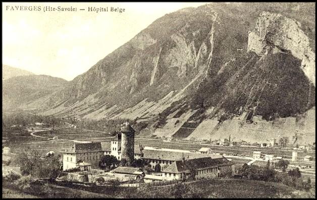 faverges hopital belge au  chateau