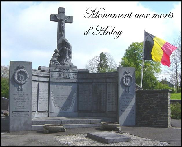 site 001 Anloy monument  aux morts