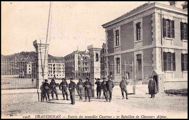 site draguignan caserne 7ème bca