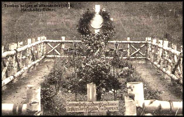 site marches les dames tombes belges et allemandes
