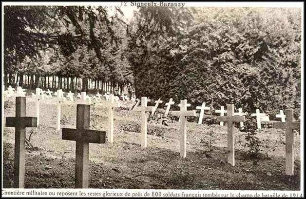site signeulx baranzy cimetière français