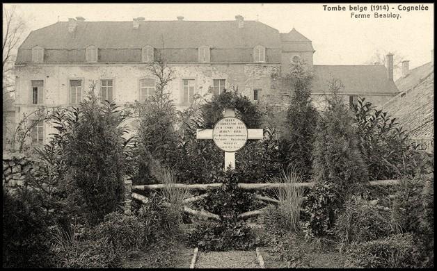 site Tombe Belge 1914 Ferme de Beauloy