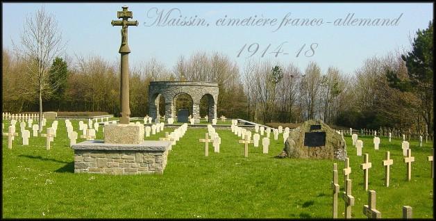 site cimetière de Maissin actuel 2004