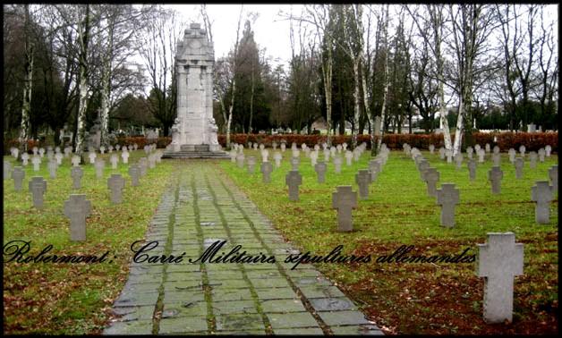 site robermont tombes de soldats allemands