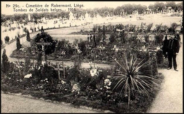 site robermont tombes de soldats belges