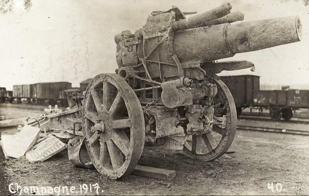210mm 1917 Abimé