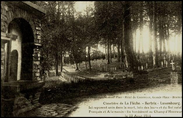 site ancien cimetière de la flèche bertrix