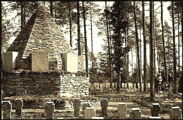 site bertrix luchy mémorial au coeur du cimetière