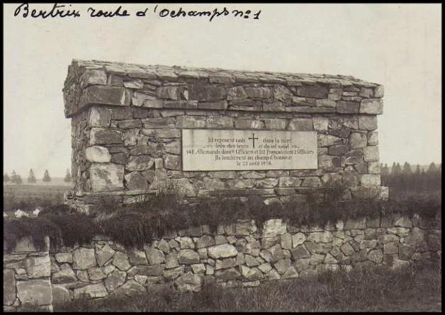 site bertrix rte d'ochamps cimetière
