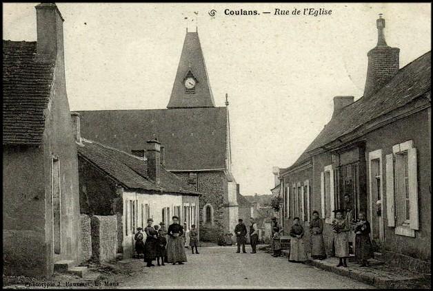 site coulans rue eglise