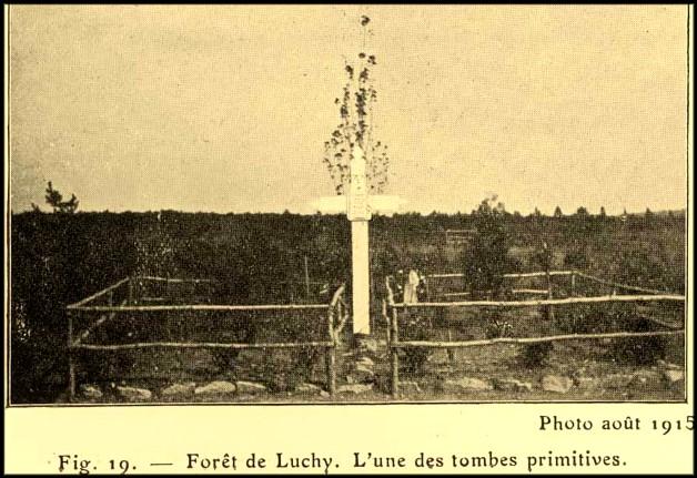 site luchy l'une des tombes primitives