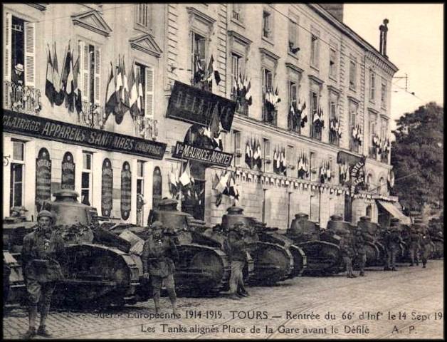 site tanks et 66è ri 14 sept 1919