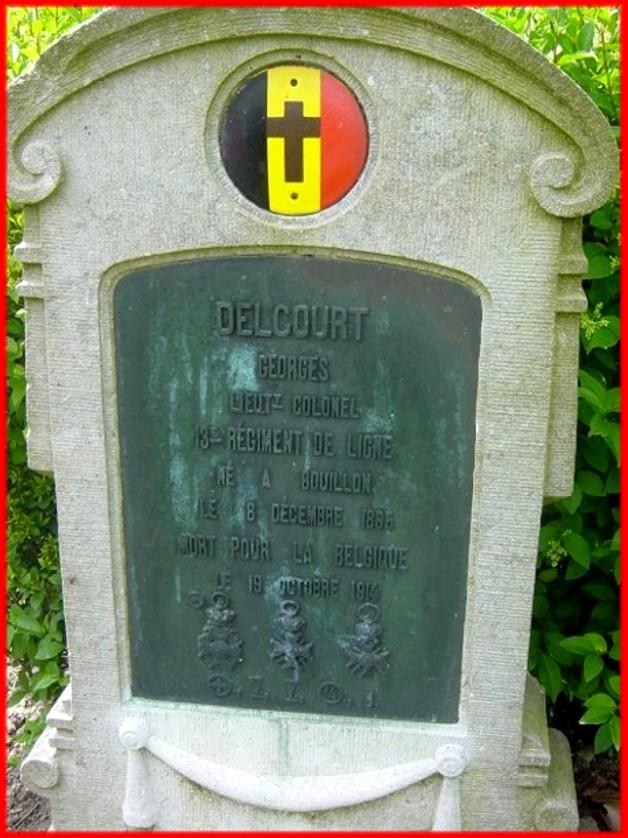 site Colonel DELCOURTsépulture cimetière de Keiem
