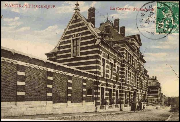site Namur 1913 caserne 13è ligne