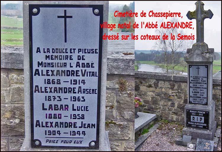 site so be montage cimetière chassepierre