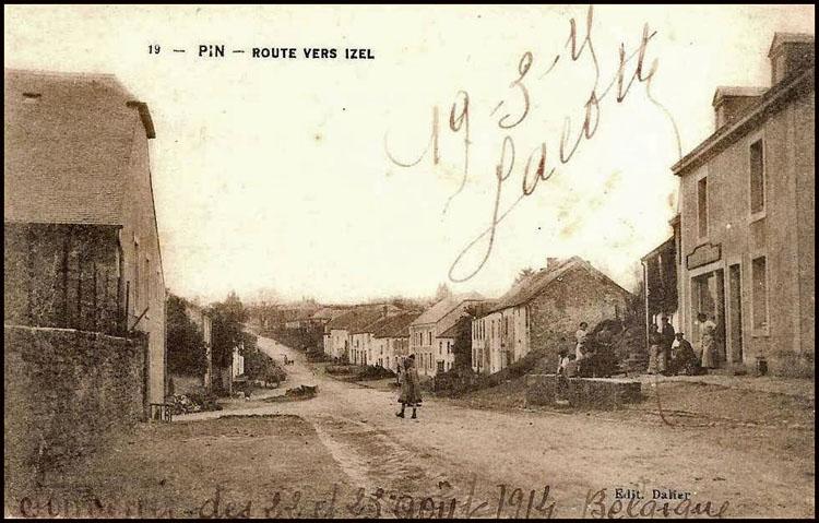 site so be pin rte izel 1914