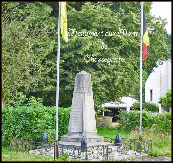 site so le monument chassepierre