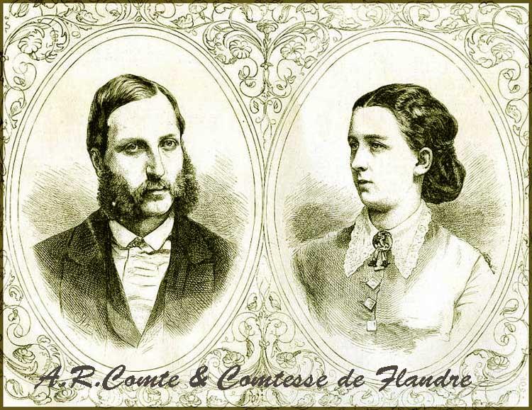 site so be comte et comtesse de flandre en 1862