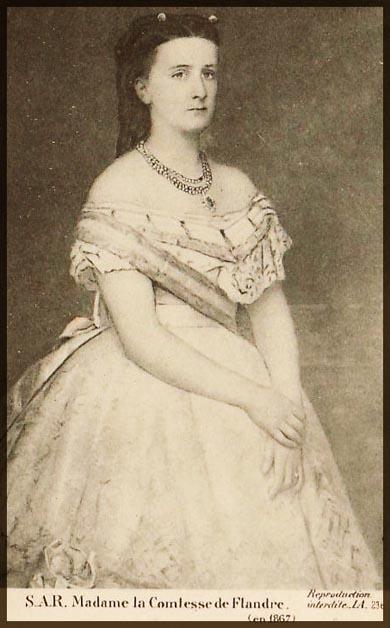 site so be comtesse flandre  en 1867