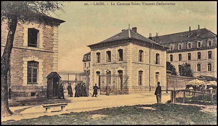 site so fr laon corps de garde caserne st vincent