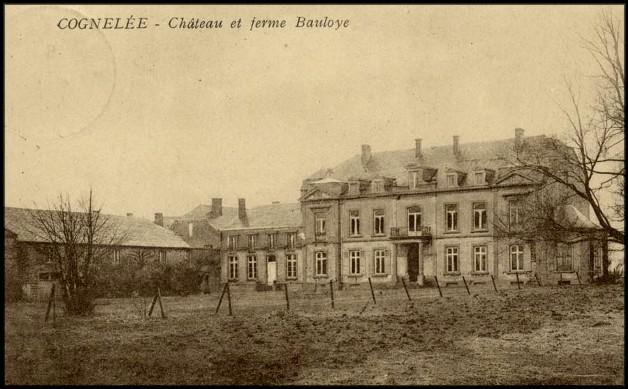site cognelée château  et ferme bauloye