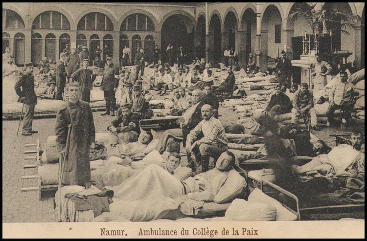 site so be namur ambulance du collège de la paix