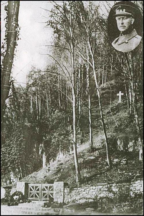 site so be Marches-les-Dames 1934 endroit de la croix