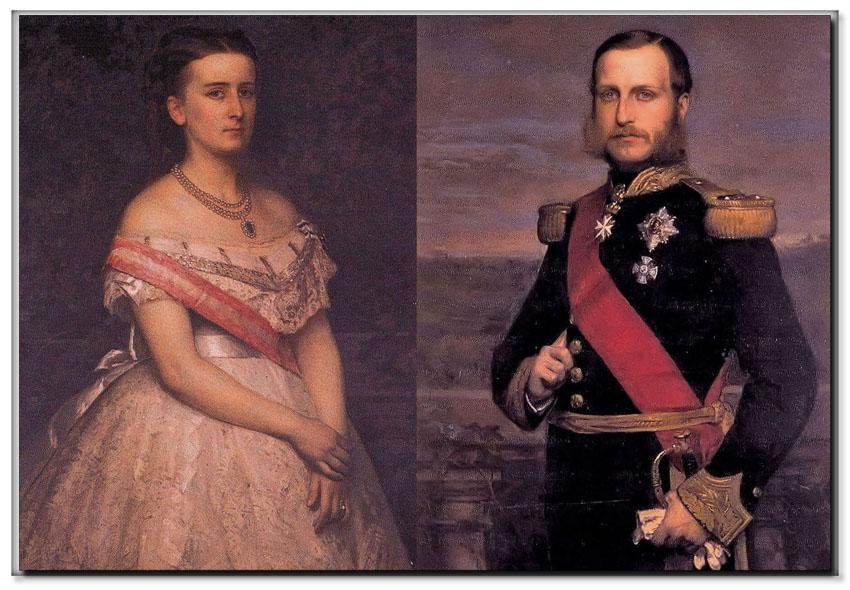 site so be comtesse et comte  de flandre portraits color
