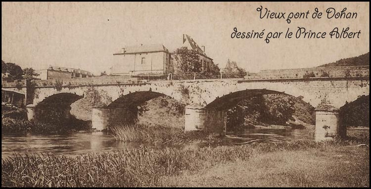 site so be dohan le pont dessiné par Albert1er