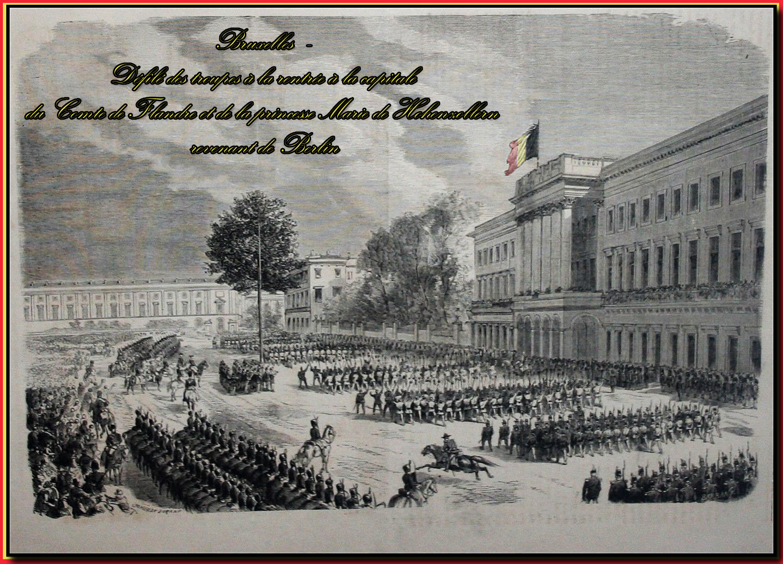 site to be troupes comte de flandre et marie hohenzollern