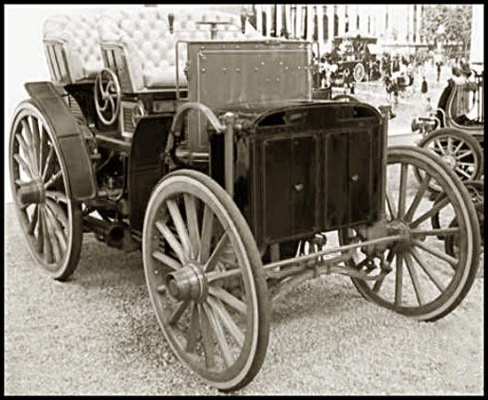 voiture vapeur 1893 menierdouble phaeton