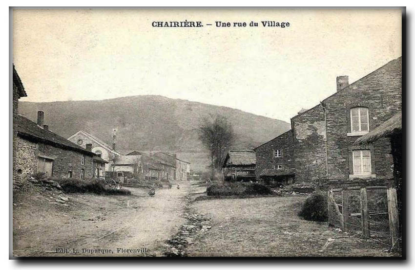 site so be chairière rue du village