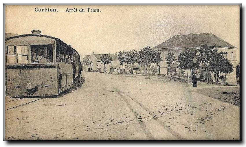 site so be corbion arrêt tram 1920