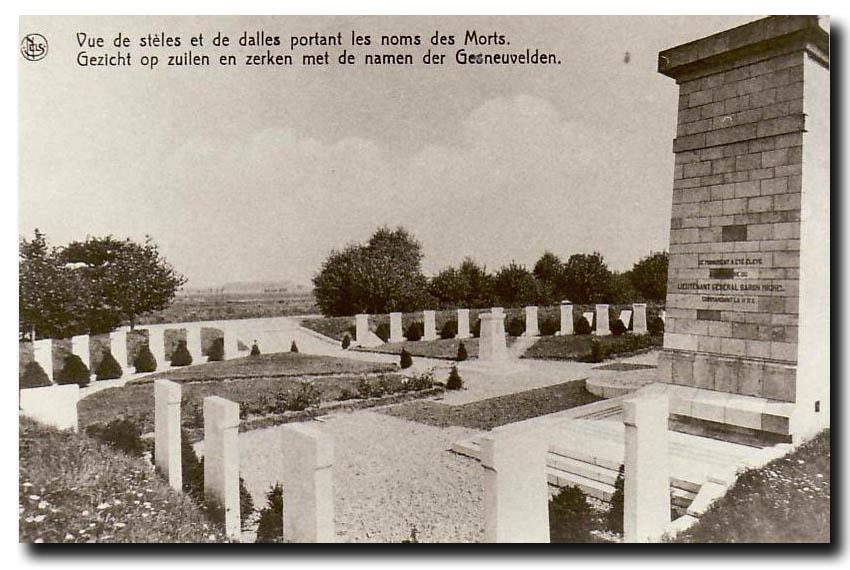 site so be vue des stèles