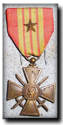site so fr croix de guerre avec 1 étoile de bronze copie