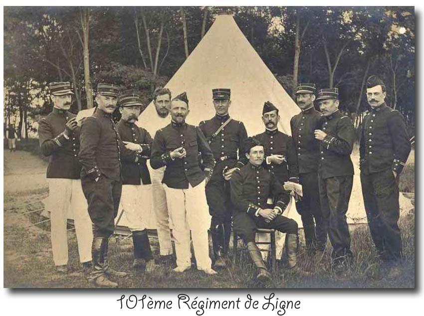 site so fr 101ème ri groupe officiers
