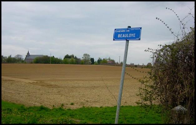 site Chemin de Beauloye et vue de Cognelée