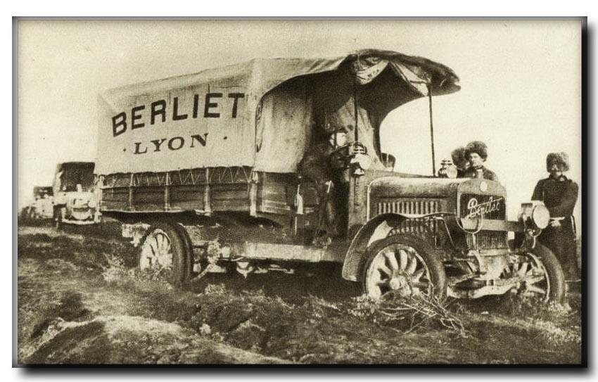 site so fr camion berliet en terrain
