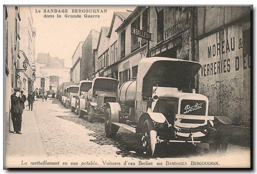 site so fr camion berliet ravitaillem eau