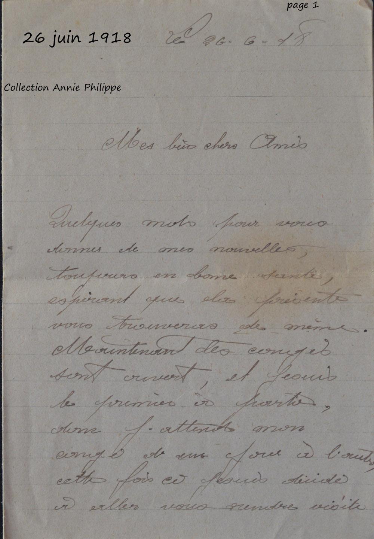 1918 06 26 felix ecrit a ses amis page 1_modifié-1