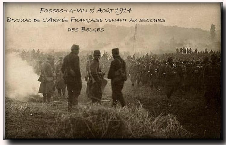 site me be fosses la ville bivouac francais aout 1914