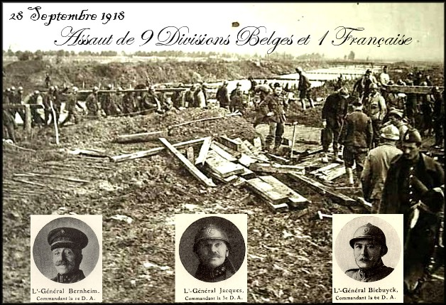 site me be offensive du 28 Sept 1918 10 divisions