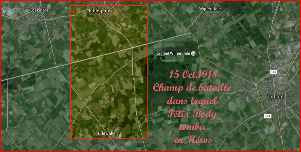 site to be champ bataille de Félix 15 oct 1918