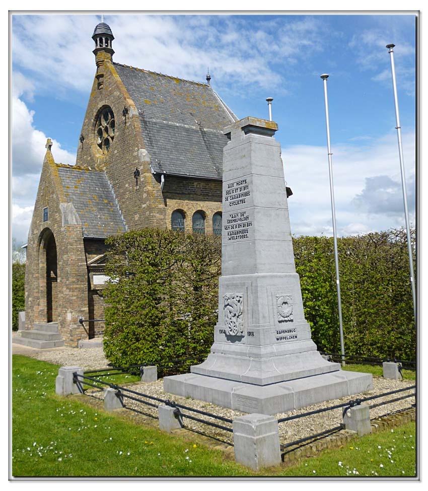 site so be oud-stuivekenskerke t monument 1er & 2è carab cycli
