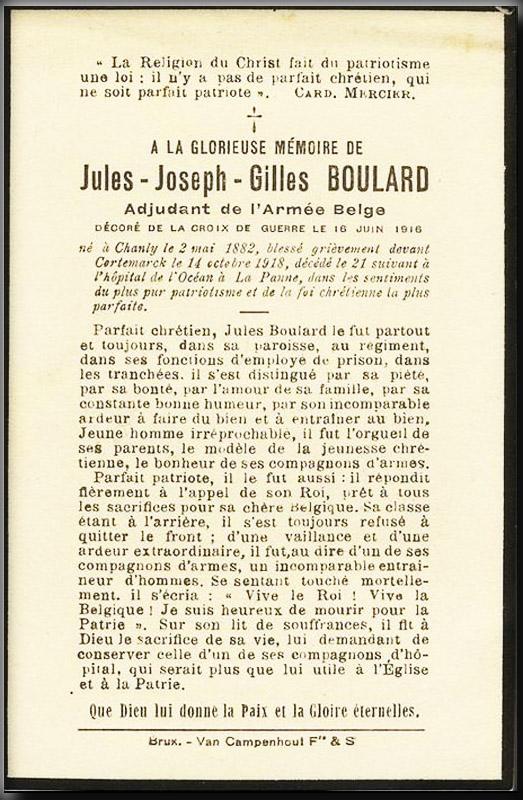 site me be 13ème ligne boulard jules  dcd 21 oct 1918 cortemark copie