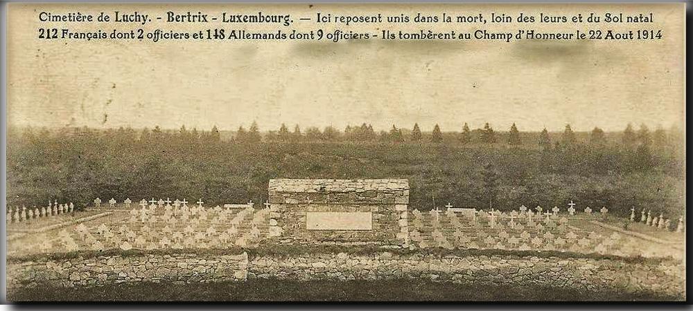 site so be bertrix cimetière de luchy 22 aout 14