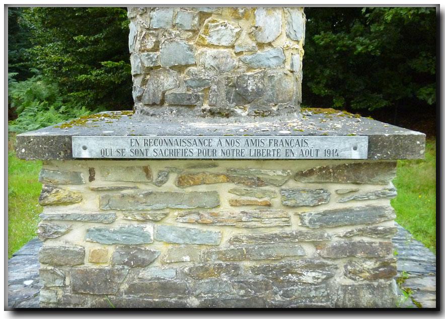 site so be paliseul monument en reconnaissance aux amis  francais