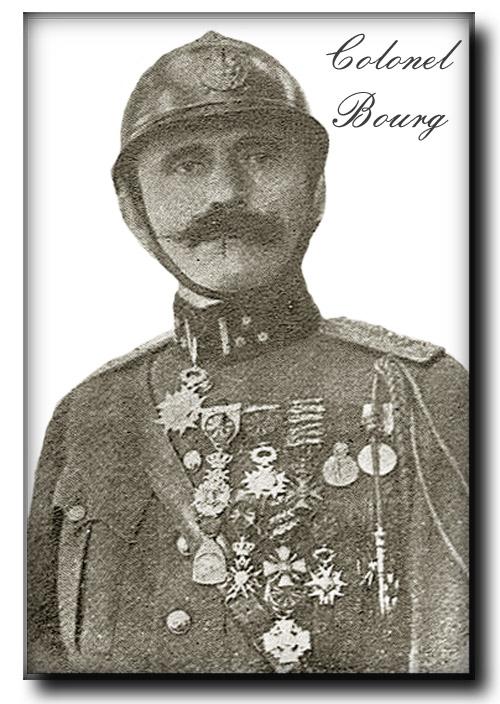 site me be colonel Bourg photo prise après guerre
