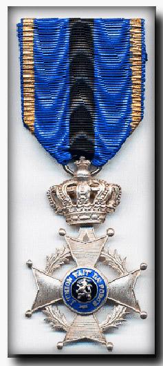 site me be médaille chevalier de l'ordre de léopold II