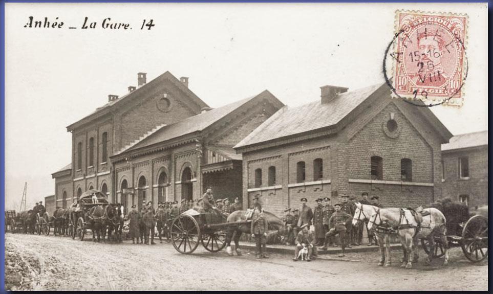 site me be nam anhée la gare 1914 attel allem copie